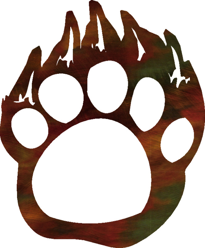 Grizzly Bear Paw Print Clipart | Clipart Panda Free Clipart Images