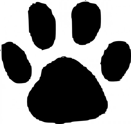 Grizzly Bear Paw Print Clipart | Clipart Panda - Free ...