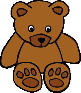 sitting teddy bear clip art clipart panda free clipart images rh clipartpanda com bear clip art silhouette bear clip art free download