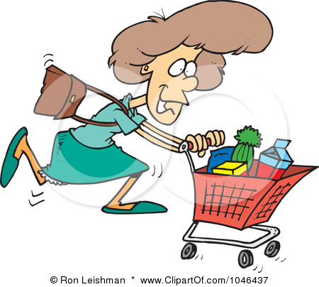 image Lady from grocery store