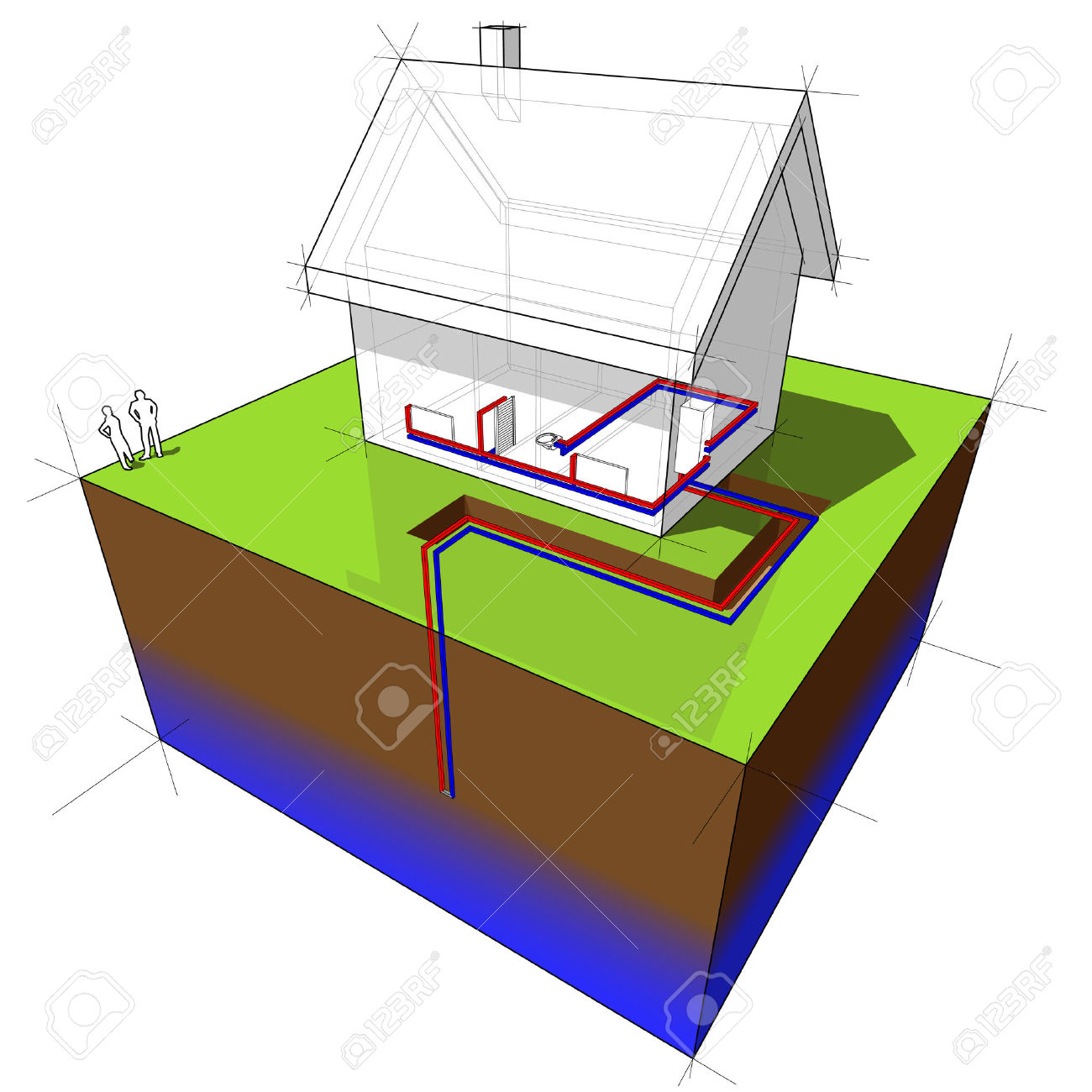 groundwater : geothermal heat | Clipart Panda - Free Clipart Images