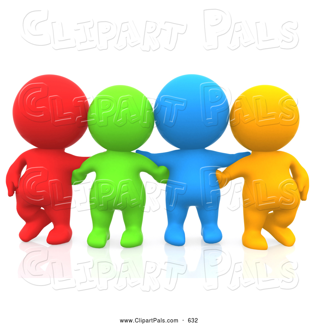 Group of friends hugging clipart clipart panda free for Graphics clipart