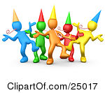 group%20of%20friends%20having%20fun%20clipart