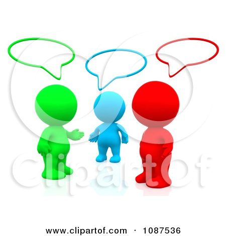 Group Of People Talking Clipart | Clipart Panda - Free Clipart Images
