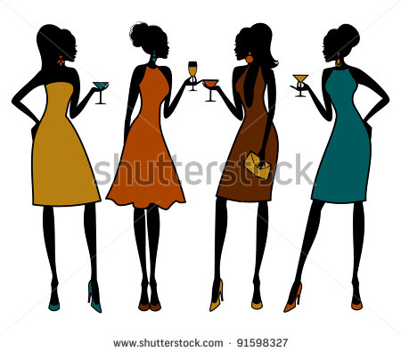 Group Of Girl Friends Clipart | Clipart Panda - Free Clipart Images