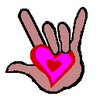 I Love You Sign Language Clipart | Clipart Panda - Free ...