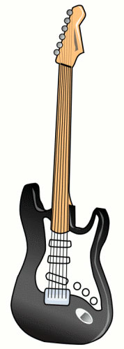 guitar clip art border clipart panda free clipart images. Black Bedroom Furniture Sets. Home Design Ideas