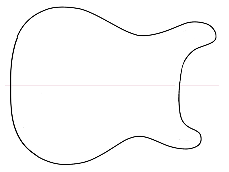image relating to Guitar Printable identified as Guitar Define Printable Clipart Panda - Totally free Clipart Photos