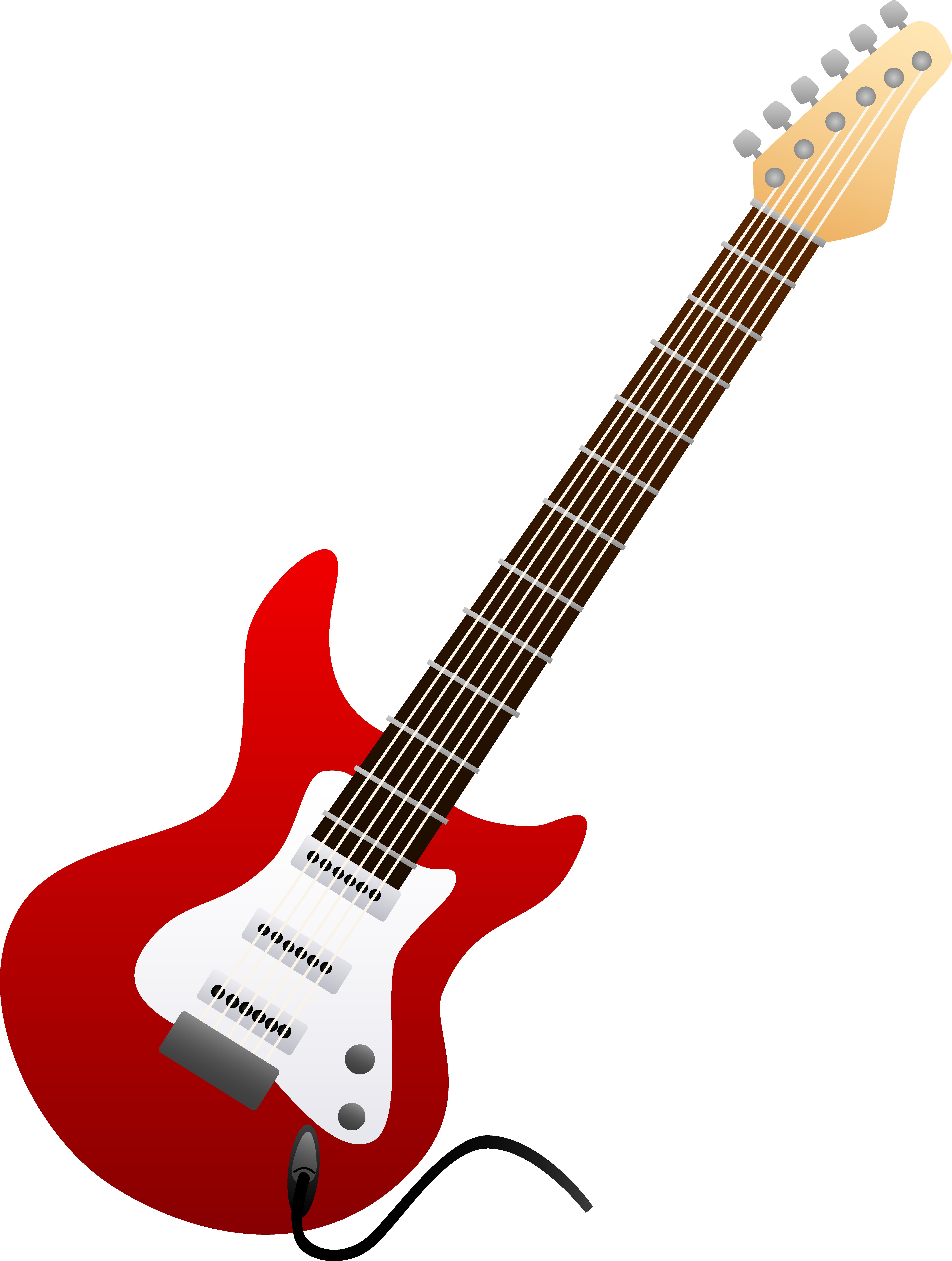 Rock Guitar Outline   Clipart Panda - Free Clipart Images