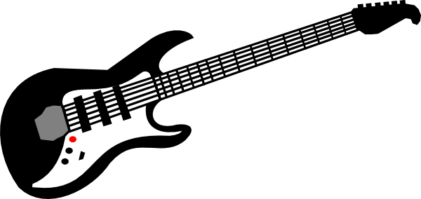Clip Art Electric Guitar Clip Art electric guitar clipart black and white panda free