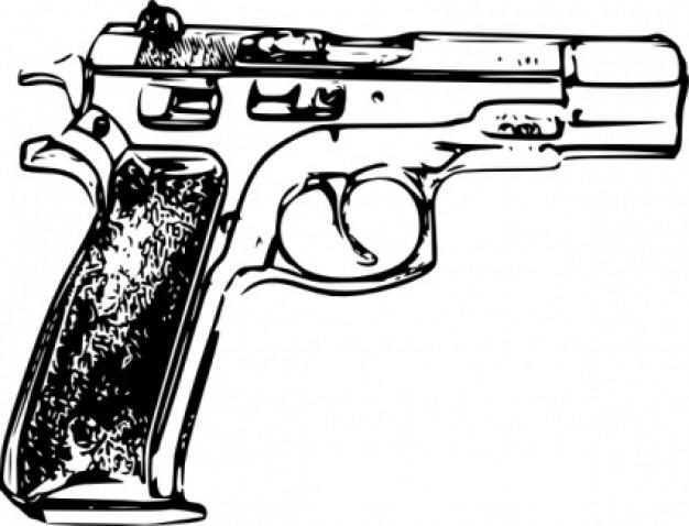police gun clip art clipart panda free clipart images rh clipartpanda com gun clipart black and white gun clipart black and white