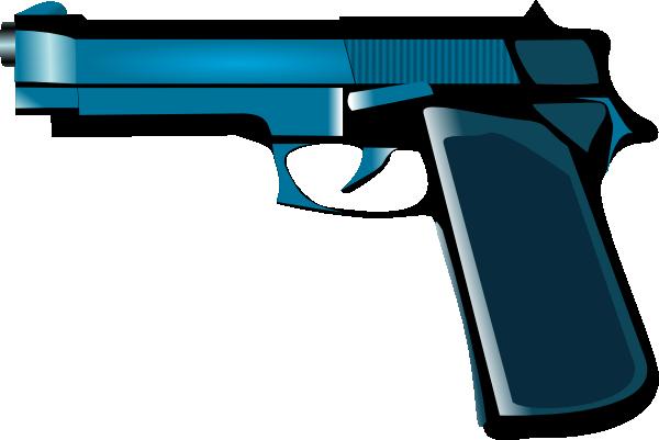 Clipart Man With Gun