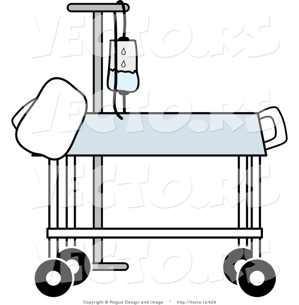Hospital Bed Cartoon Clipart Panda Free Clipart Images Pictures to pin ...