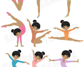 Gymnast Girl Clip Art | Clipart Panda - Free Clipart Images