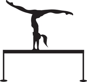 gymnastics clipart black and white clipart panda free clipart images rh clipartpanda com gymnastics clipart silhouette free gymnastics clipart black and white free