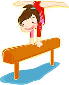 Gymnastics Clipart Tumbling | Clipart Panda - Free Clipart ...