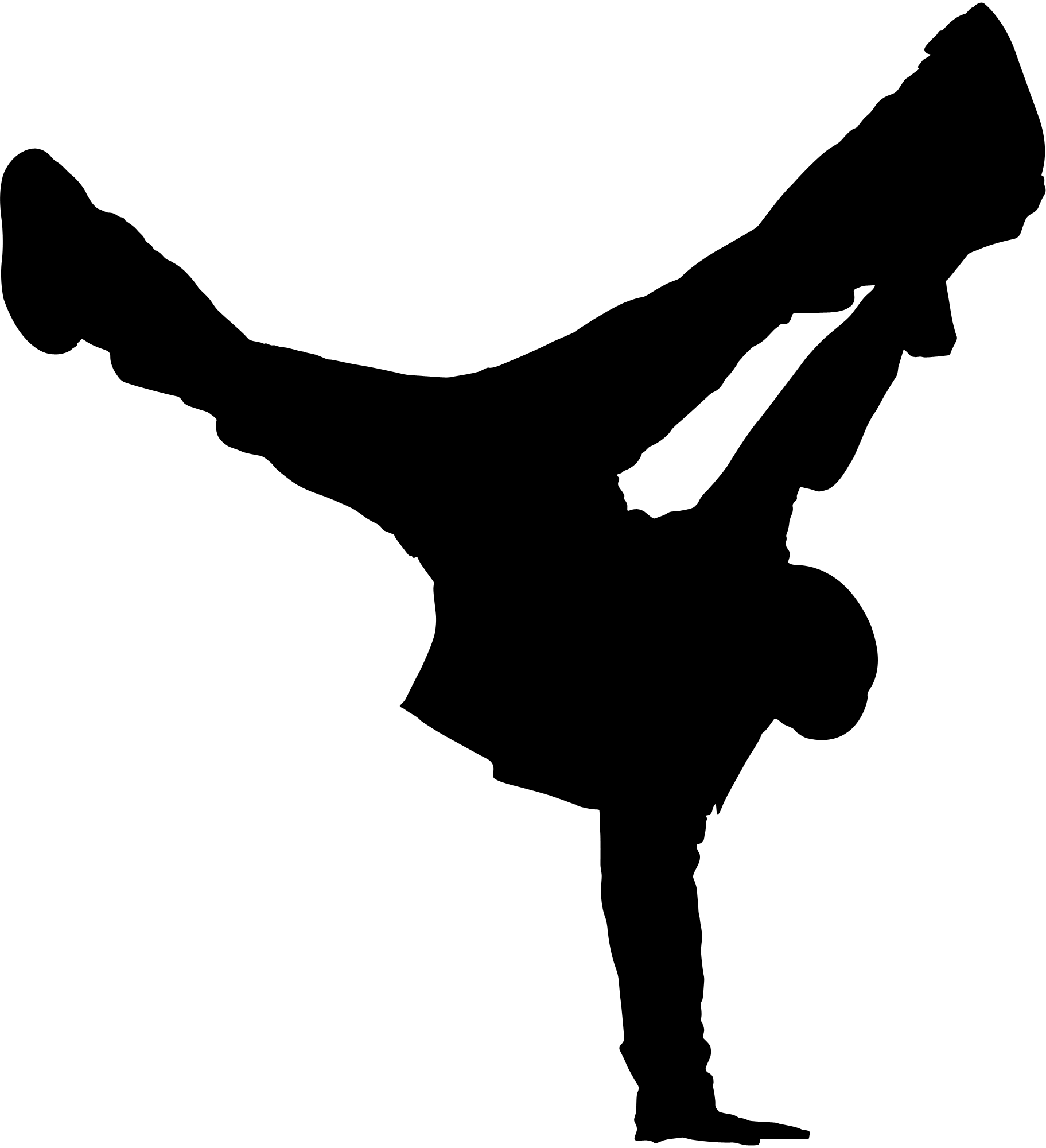 gymnastics handstand silhouette clipart panda free tae kwon do clip art free taekwondo clip art black & white