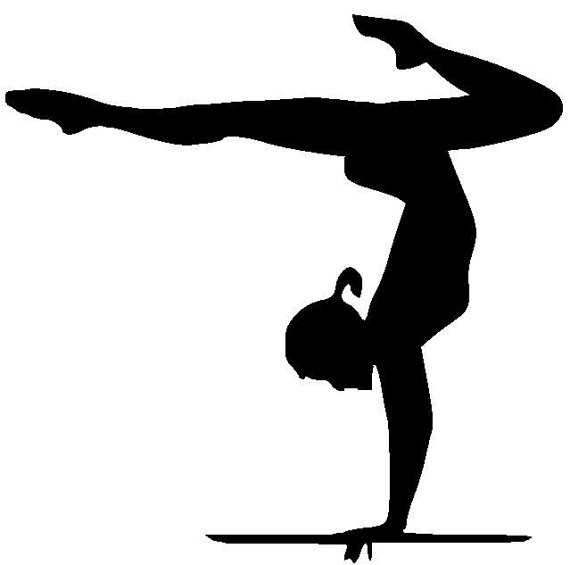 Gymnastics Handstand Silhouette | Clipart Panda - Free Clipart Images