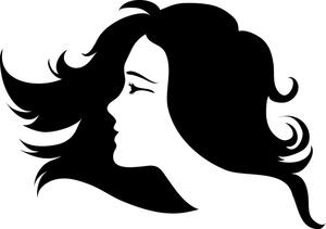 Clip Art Hair Stylist Clipart hair salon clipart black and white panda free clip art