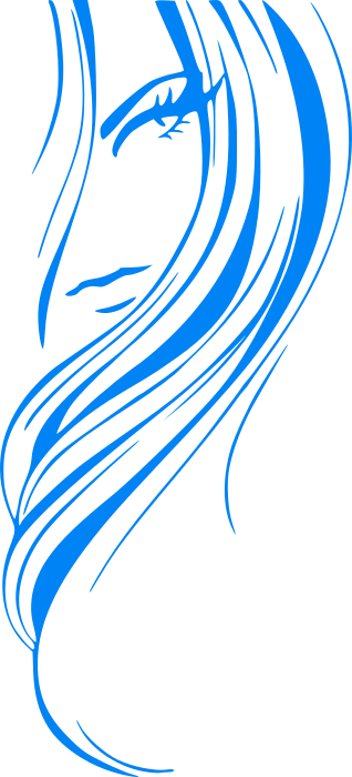 Girl Hairstyle Png : Hair clip art free download clipart panda images
