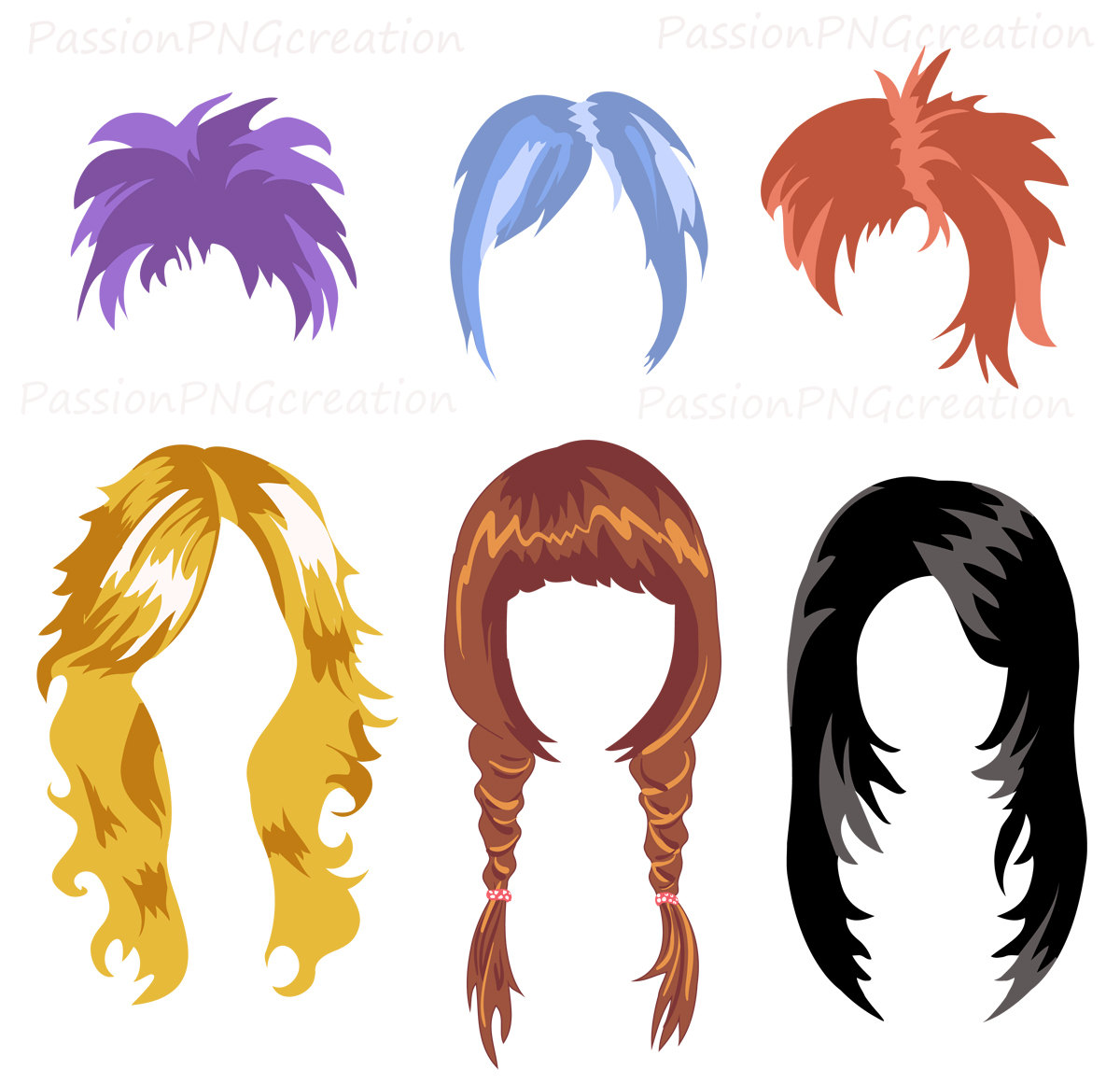 Hair clip art free download clipart panda free clipart for Free online drawing
