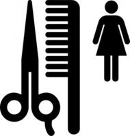 hair%20salon%20clipart%20black%20and%20white