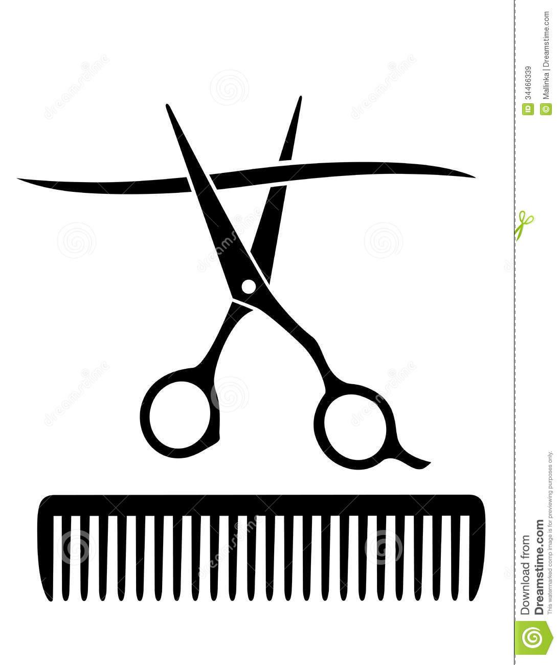 hair%20scissors%20and%20comb%20clip%20art