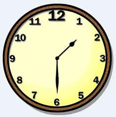 half hour clip art clipart panda free clipart images rh clipartpanda com Telling Time Clip Art Telling Time Clip Art