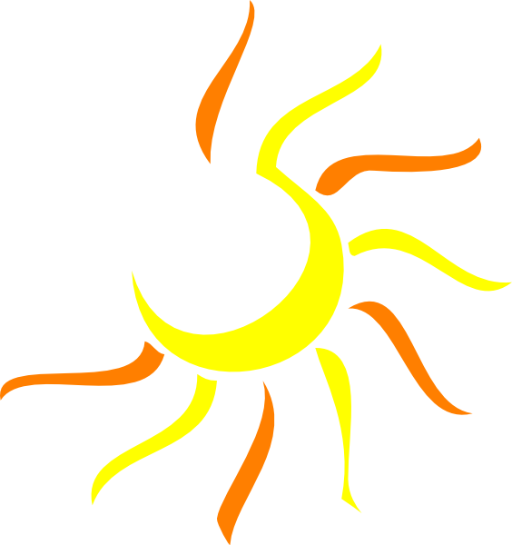 sun clip art vector clip art clipart panda free clipart images rh clipartpanda com Half Sun Clip Art Vector Black Half Sun Vector