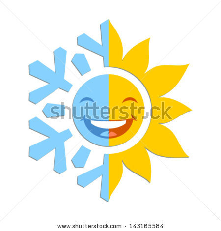 half-sun-logo-stock-vector-half-of-a-snowflake-and-half-of-a-sun ...