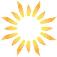 Half Sun Logo   Clipart Panda - Free Clipart Images