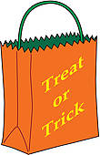 Trick-or-treat bag | Clipart Panda - Free Clipart Images