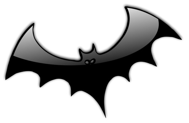 Halloween Bat Clipart Black And White | Clipart Panda - Free ...
