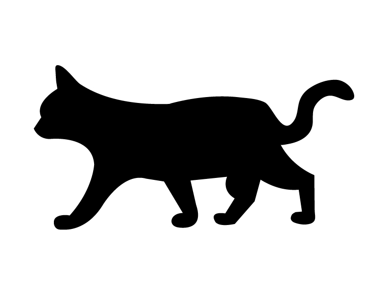 Halloween Black Cat Silhouette | Clipart Panda - Free Clipart Images
