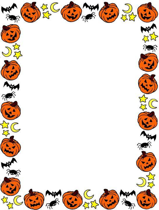 halloween20border20clipart - Halloween Clip Art Border