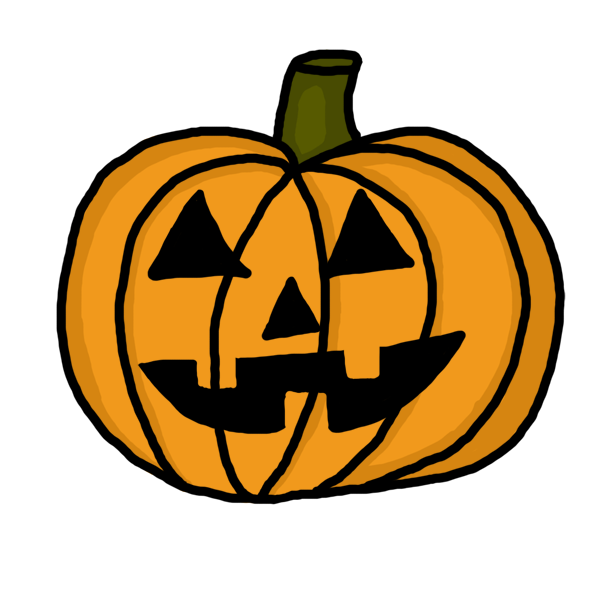 clipart info - Draw Halloween Pumpkin