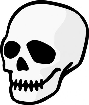 halloween20skeleton20head20clipart - Halloween Skeleton Head