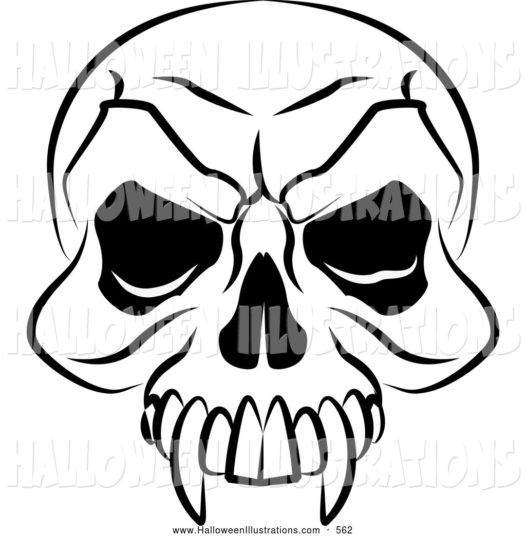 Halloween Skeleton Head Wallpapers