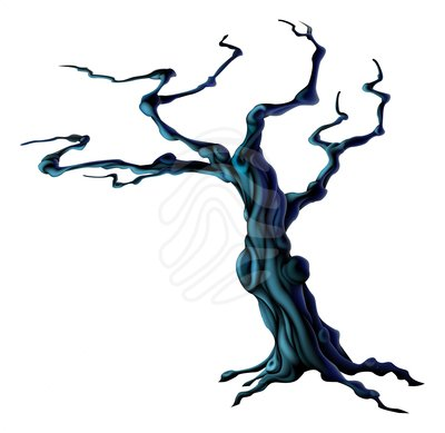 Halloween tree clipart clipart panda free clipart images for Creepy trees for halloween
