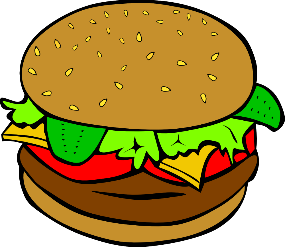 hamburger clipart