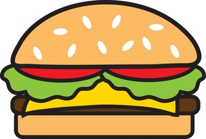 Use these free images for your websites  art projects  reports  and    Bacon Cheeseburger Clip Art