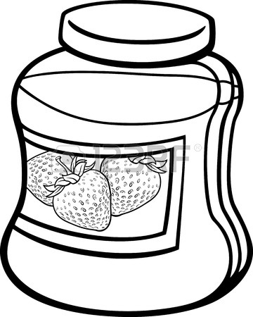 jar clip art strawberry � cliparts