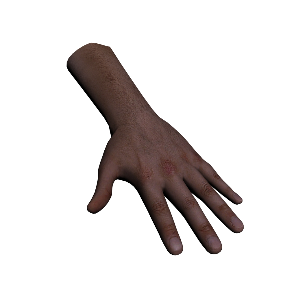 3D model Hand | Unity | Clipart Panda - Free Clipart Images