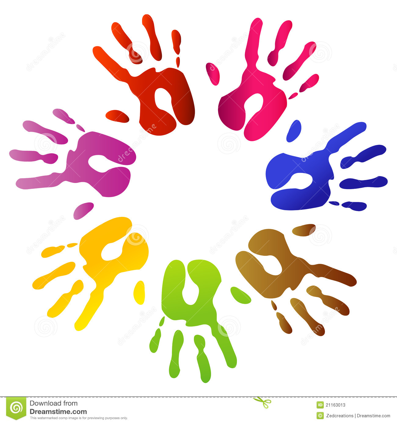Preschool Handprint Cl...