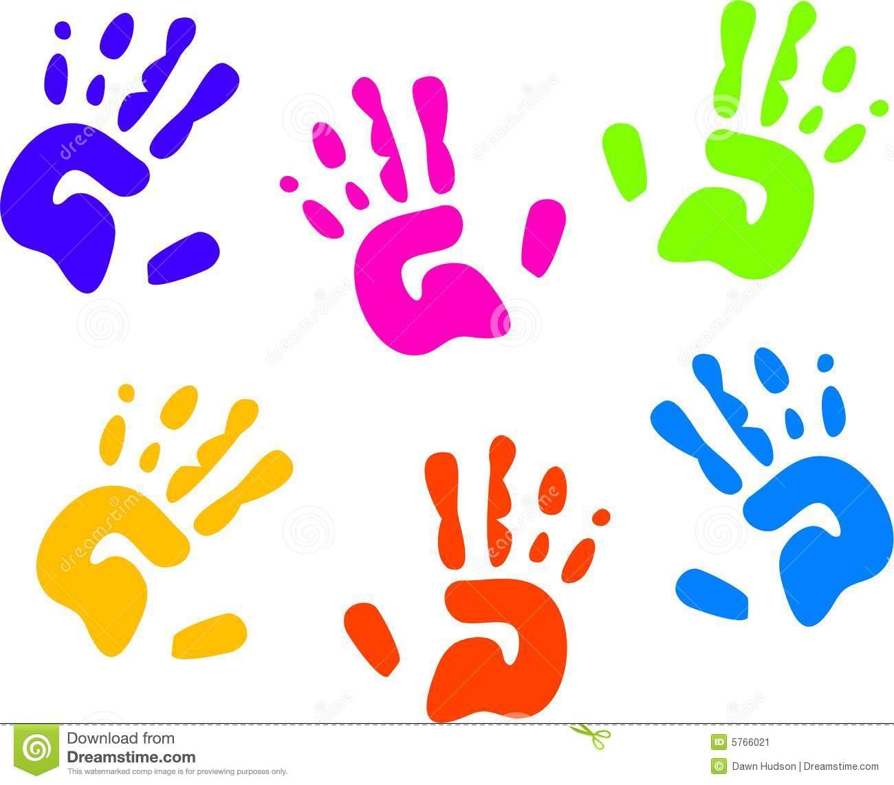 kids handprint clipart clipart panda free clipart images rh clipartpanda com Colorful Handprint Clip Art Colorful Handprint Clip Art