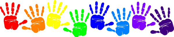 Image result for handprints transparent