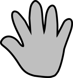 Handprint Outline Clipart | Clipart Panda - Free Clipart ...