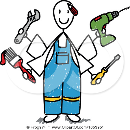 Handyman Clipart For Business Card | Clipart Panda - Free Clipart ...