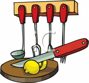 Hanging Cooking Utensils Clipart | Clipart Panda - Free ...
