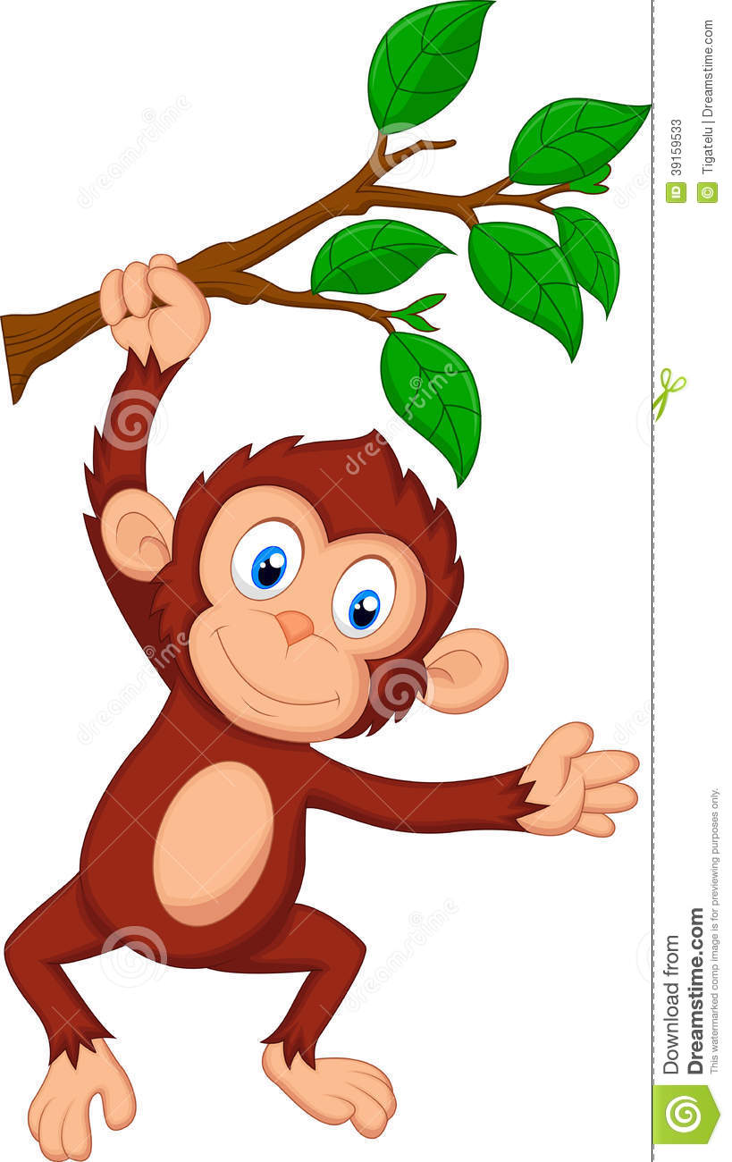 Hanging monkey template clipart panda free images